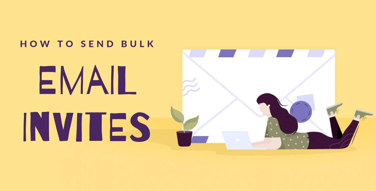 How to send bulk email invites