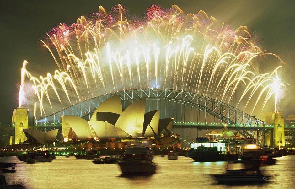 New-Years-Eve-Firework-Display-Sydney-Australia