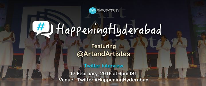 Experience Hyderabad with @ArtandArtistes