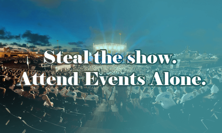 How To Attend The Events Alone And Be A Show Stunner