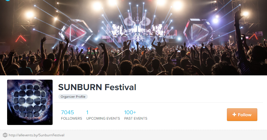 SUNBURN Festival Events