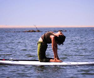Yoga on Water