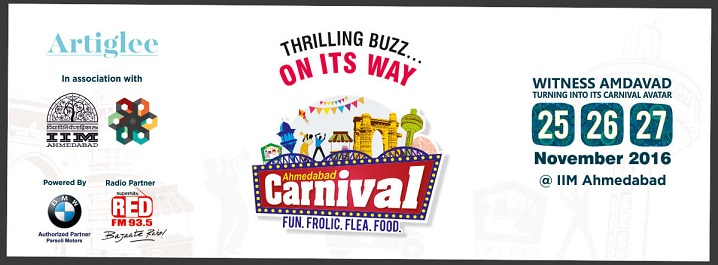 IIMA To Host One of The Biggest Carnival Ever seen in Ahmedabad.