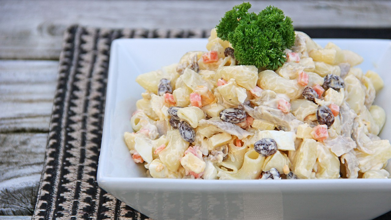 filipino christmas food   macaroni salad