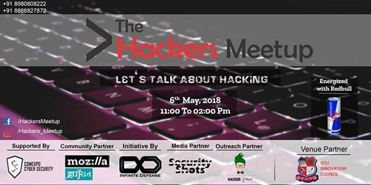 Hackers Meetup in Ahmedabad. Register Your Space now.