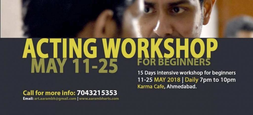 Acting School, Drama Classes and Theatre Workshops in Ahmedabad