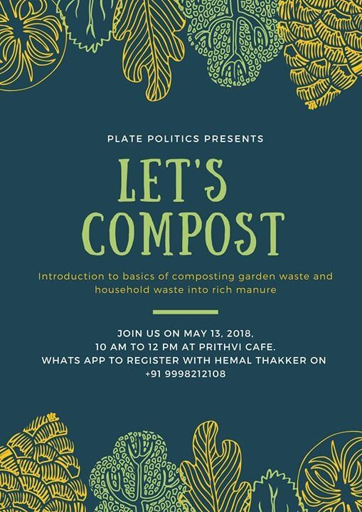 kitchen and garden waste composting in Ahmedabad - Workshops & Activities