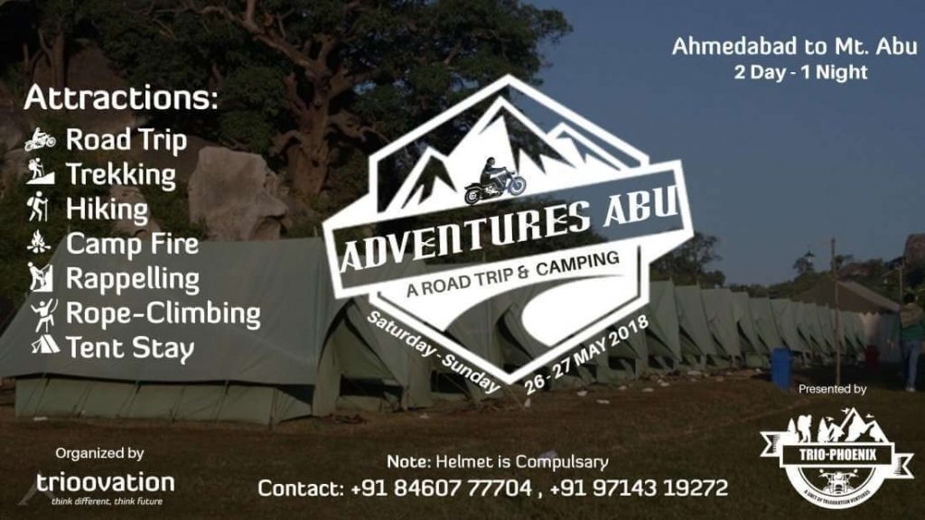 Adventure Activity in Ahmedabad - Road Trip to Abu
