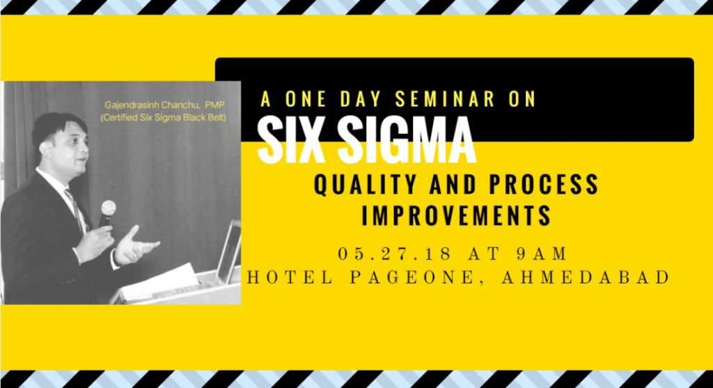 Six Sigma Workshops and Courses in Ahmedabad