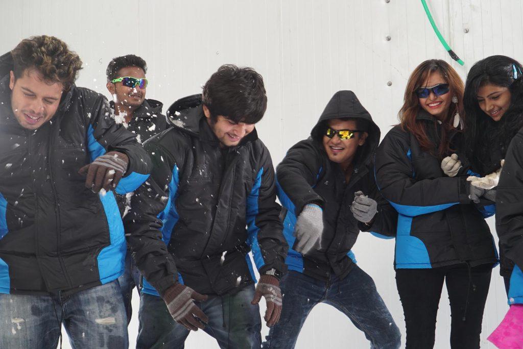 Iceberg Snow World - Snowpark in Ahmedabad Dev Arc Mall SG Highway