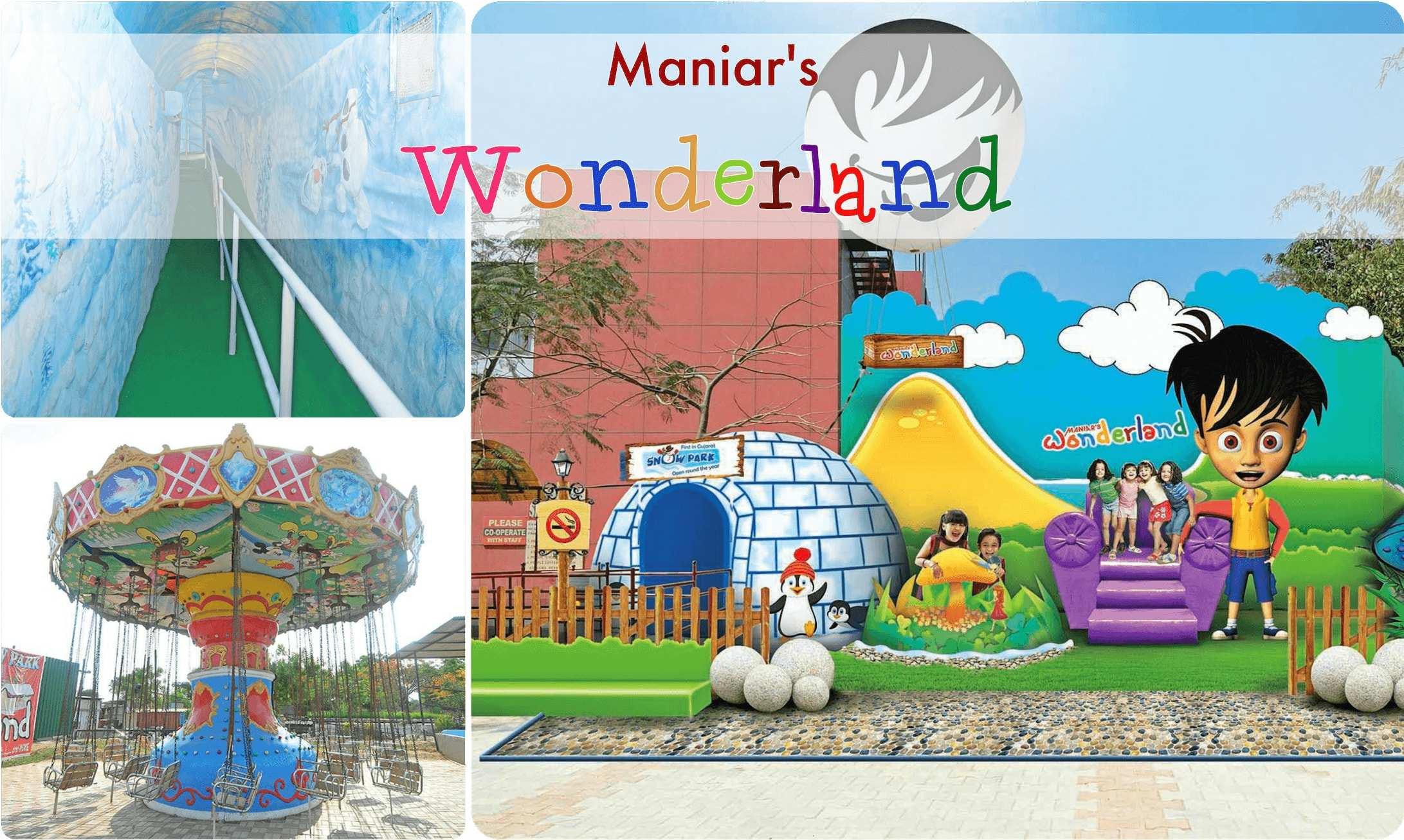 maniars wonderland ahmedabad