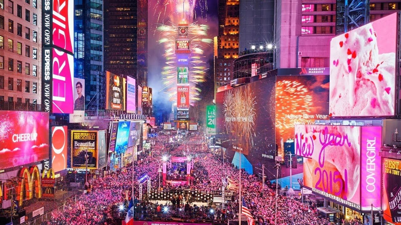 new year's eve nyc times square