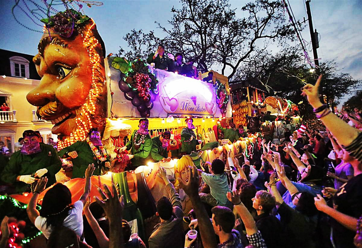 7 Best Places To Celebrate Mardi Gras