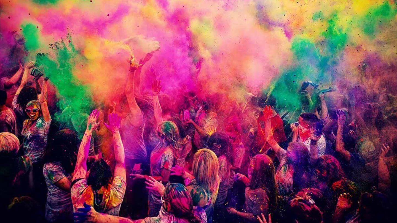 Holi festival of colors, Las Vegas