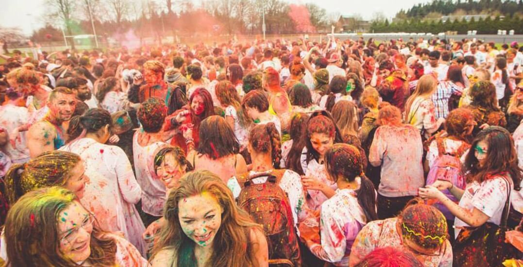 Holli Festiavl Of Colors In Ontario, California
