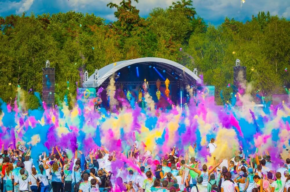 Top Cities To Celebrate Holi Outside India