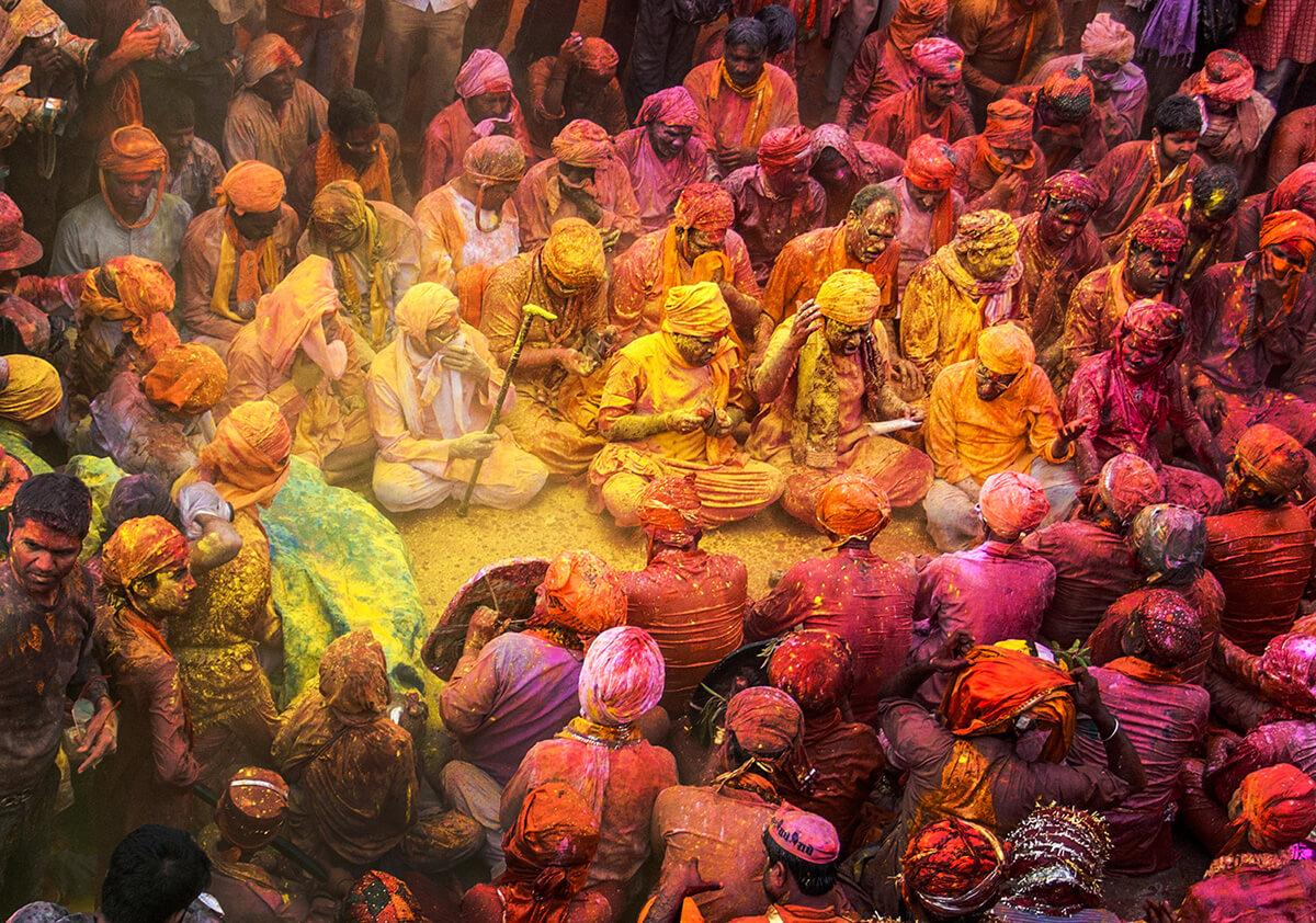 holi festival in nandgaon