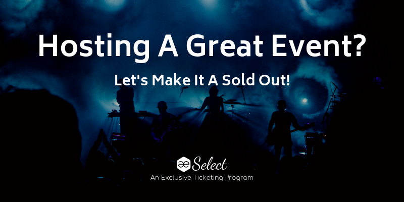 AE Select – An Exclusive Ticketing Program