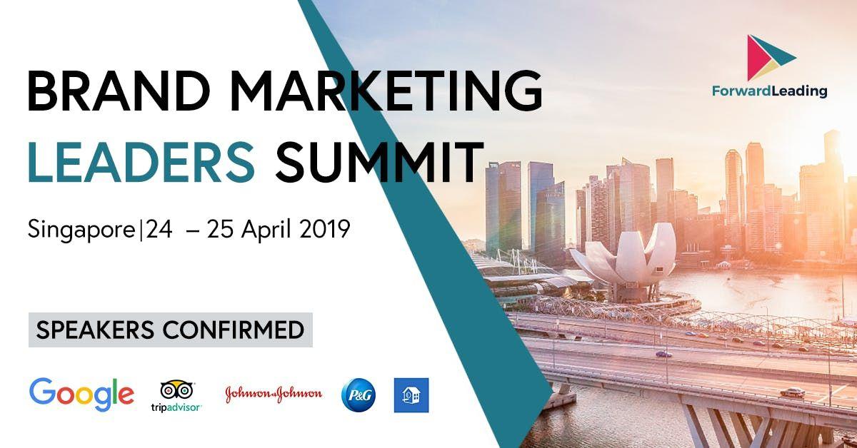 Brand marketing summit singapore
