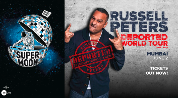 Russell Peters Will Be In Mumbai On June 2nd And We Are Ready To 'Deport' Crazily