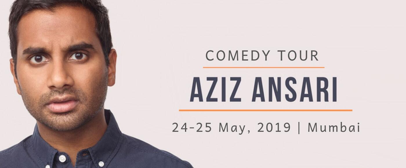 Aziz Ansari Stand-Up Comedy In Mumbai | Comedy Tour