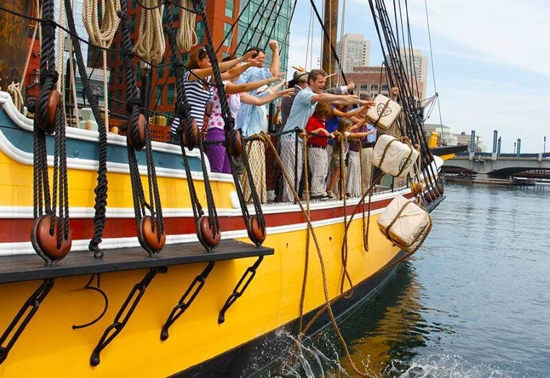 boston tea party | 4th July events in boston