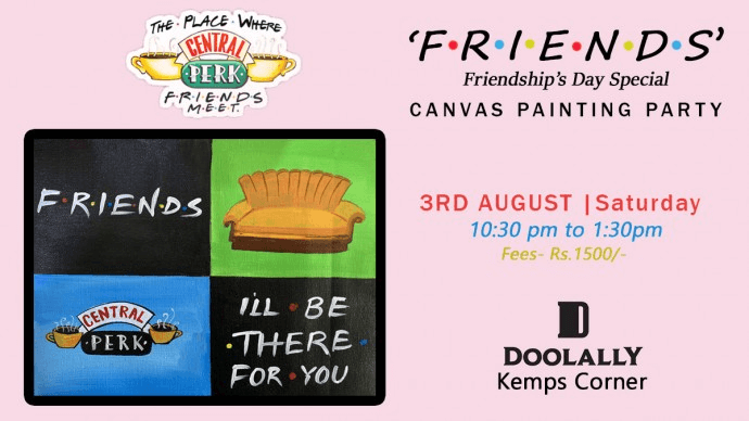 doolally painting party | friendship day events in mumbai