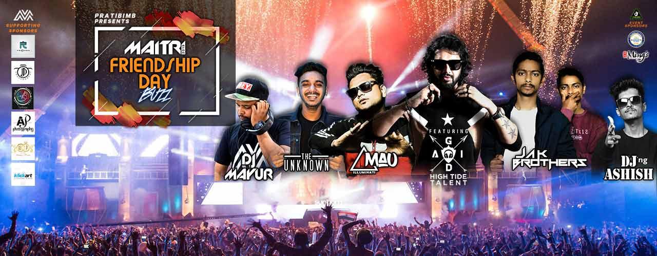 maitri friendship day buzz | friendship day parties in mumbai