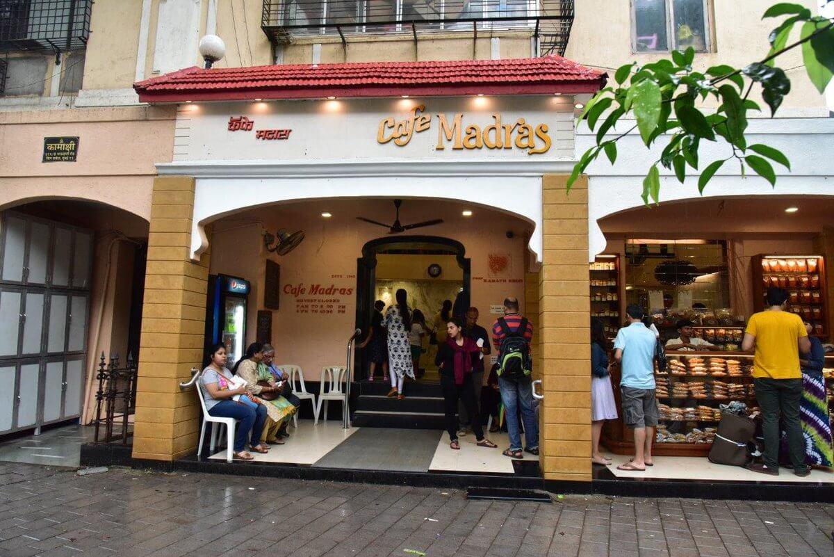 cafe madras mumbai