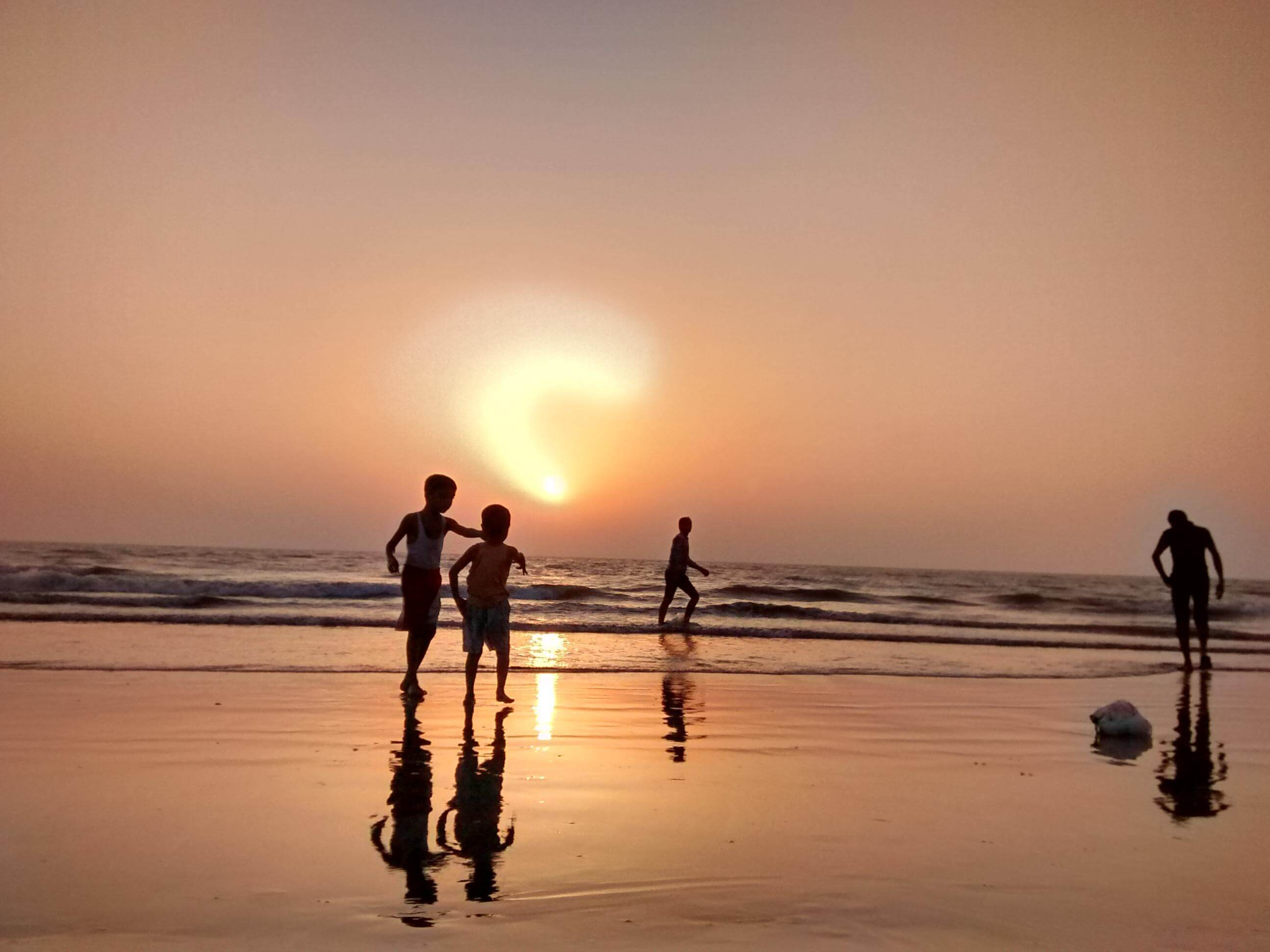 juhu beach mumbai | walk at juhu