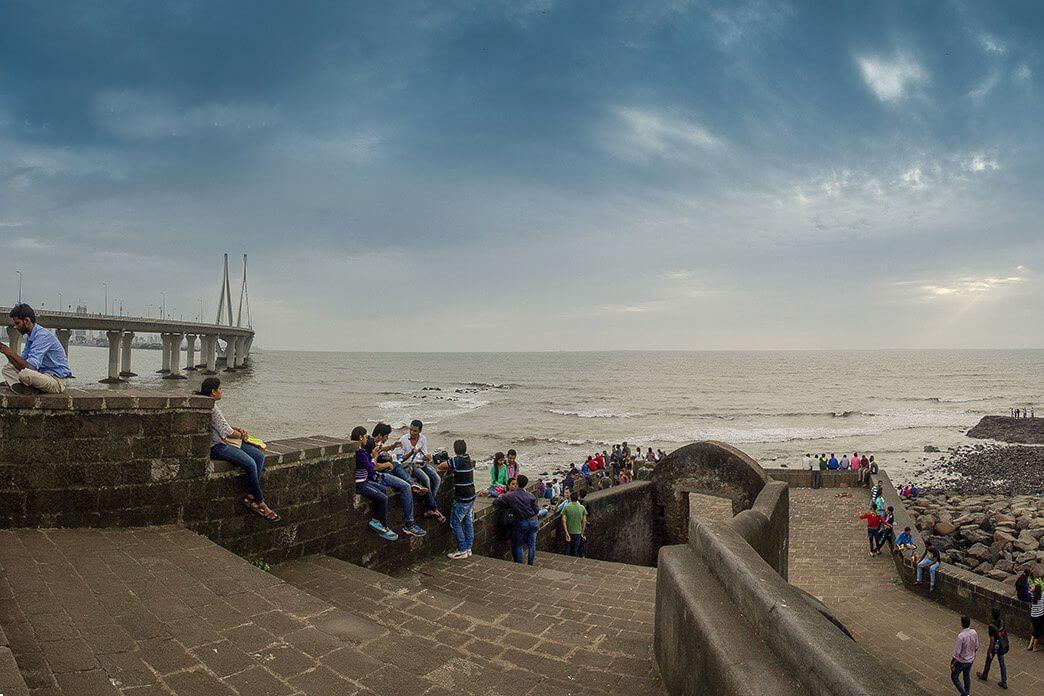 bandra fort mumbai | bandra worli sea link