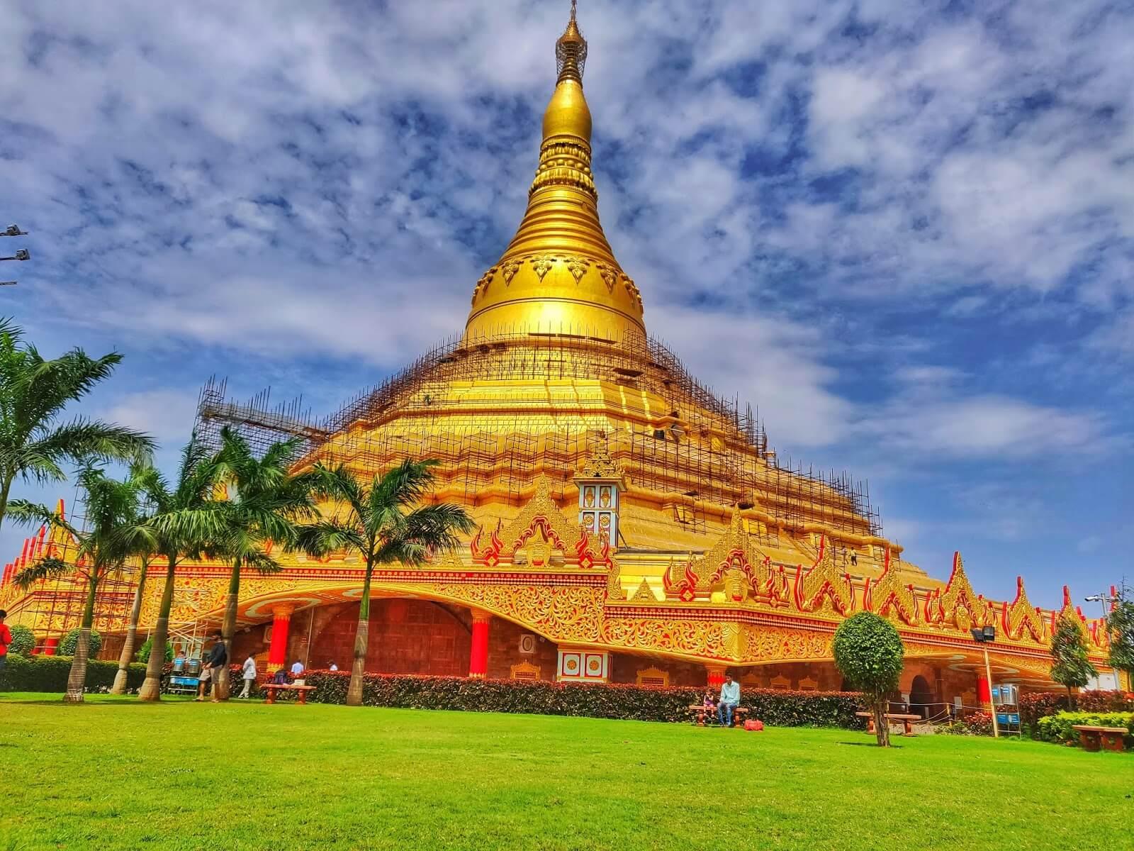 global vipassana pagoda | meditation in mumbai
