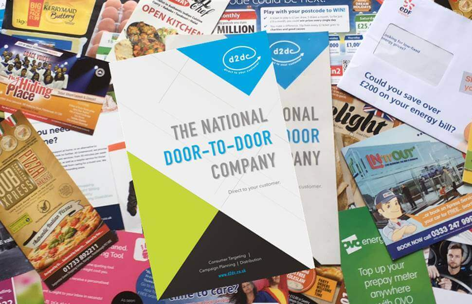 event leaflets in direct mail