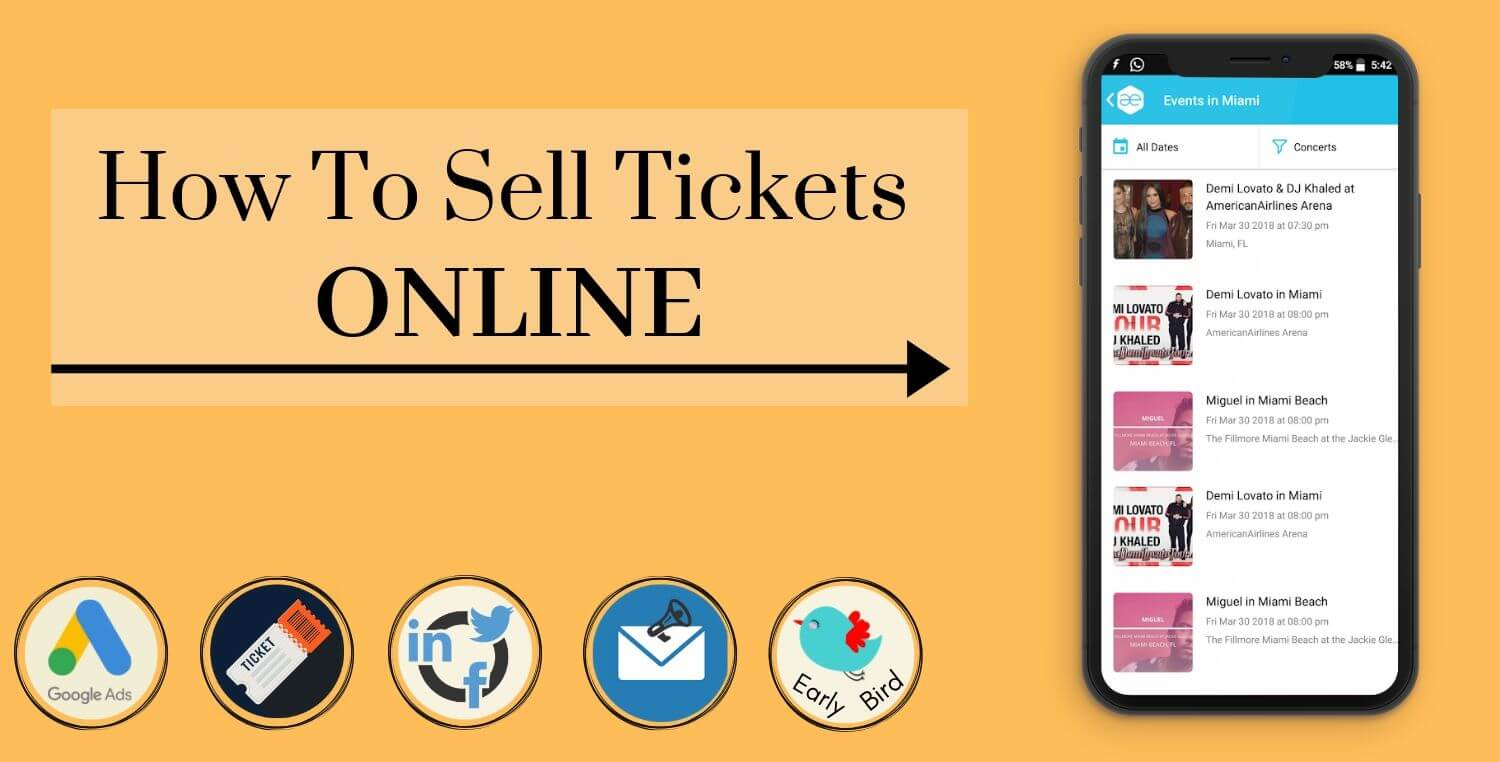 20 Best Ways To Sell Tickets Online