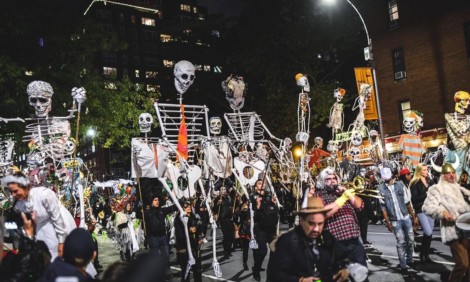 village halloween parade nyc