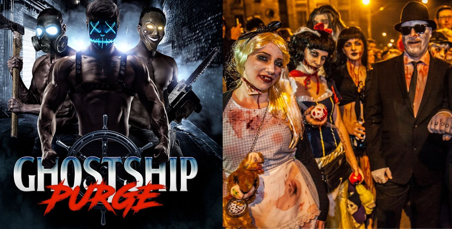 ghostship purge | halloween events in nyc