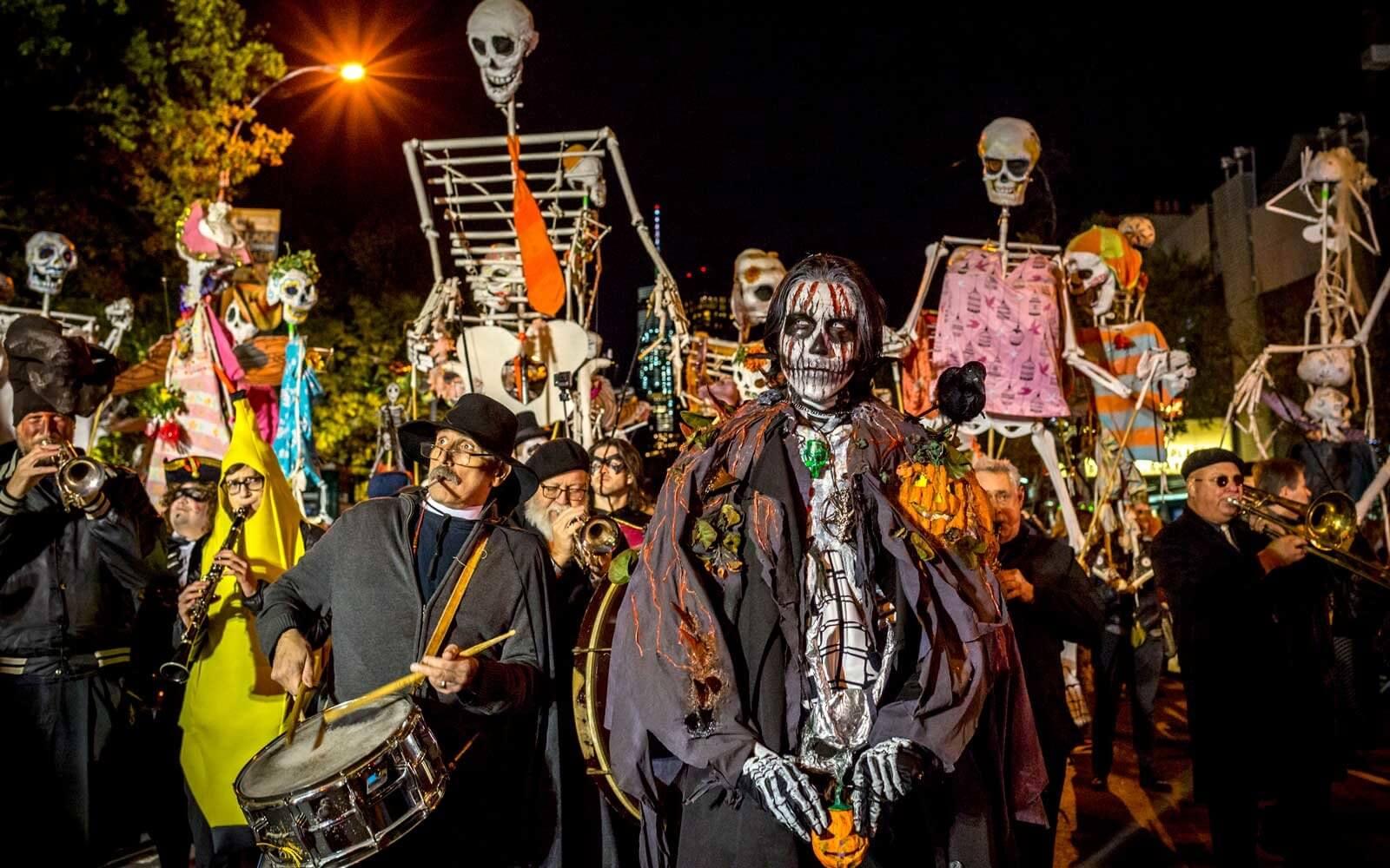 halloween street parties in new orleans