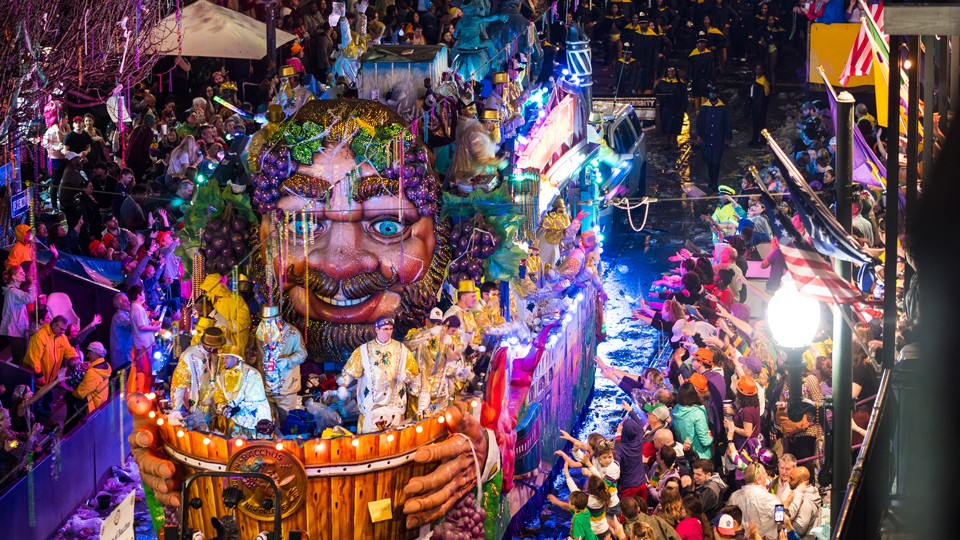 mardi gras in new orleans | parades